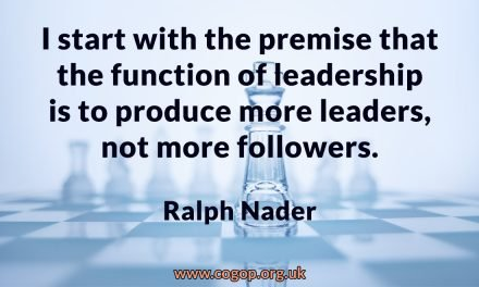 The Function of Leadership – Ralph Nader