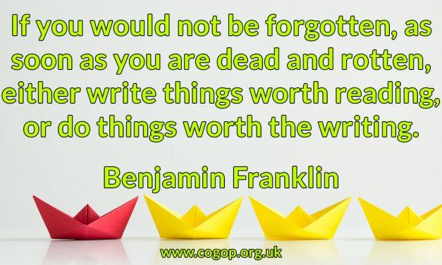 Benjamin Franklyn