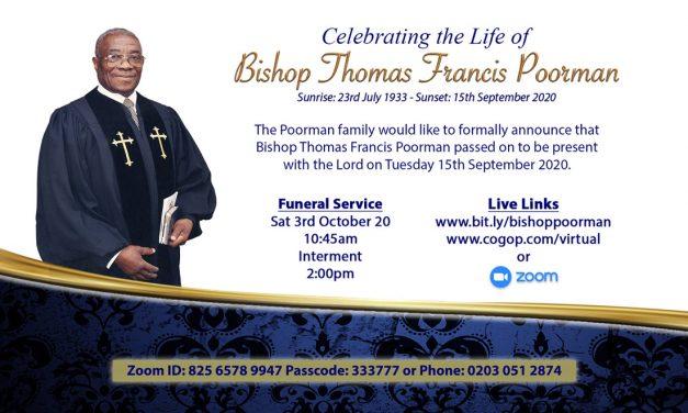 Bishop Thomas Francis Poorman
